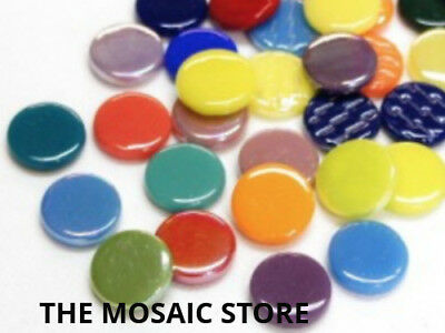 Mixed Large Glass Dots - Mosaic Tiles Supplies Art Craft