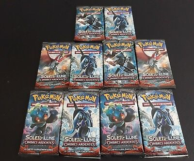 10 Boosters Pokemon Sl3 Ombres Ardentes