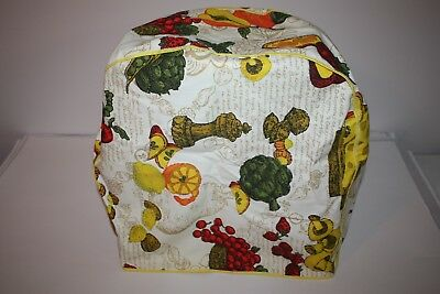 Vintage 70's Kitchen Appliance Cloth Cover - Handmade