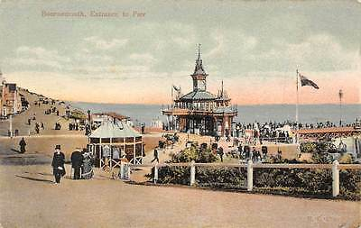 """England Bournemouth Entrance to Pier """"Stylochrom"""""""