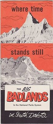 1960's The South Dakota Badlands Promotional Brochure