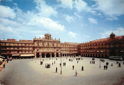 Spain Salamanca Plaza Mayor Grande Place Main Square Promenade