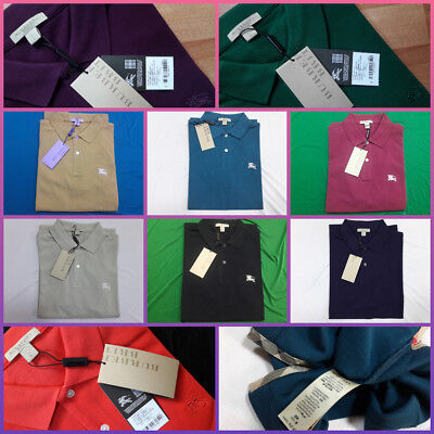Burberry Brit Mens Cotton Polo Shirts New With Tags