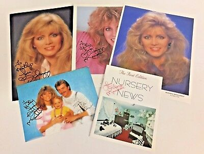 Vintage 1980's Irene Mandrell Signed Photos First Edition Nursery News Booklet