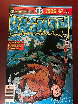 RAGMAN #2 (VF) 2nd Appearance! Classic DC Bronze-Age Issue 1976 Joe Kubert Art