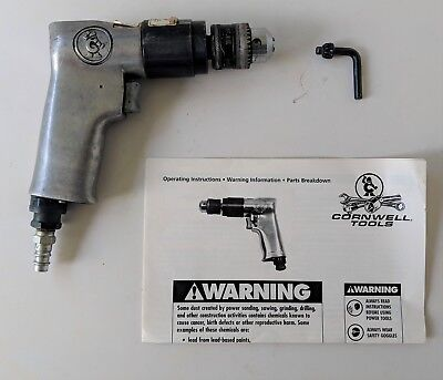 "Cornwell Tools 3/8"" Reversible Air Drill CAT 250"