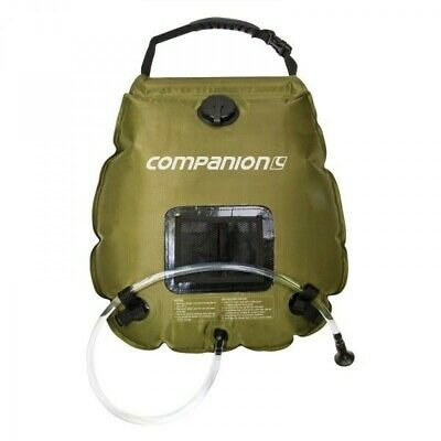 Companion Deluxe Solar Shower - Camping Hot Water System