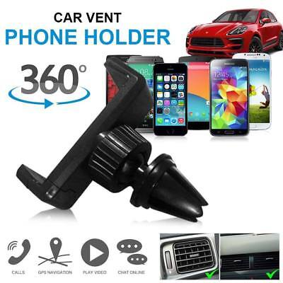 Air Vent clip Car Mobile Phone Holder Mount Universal Gps Stand Dashboard Cradle