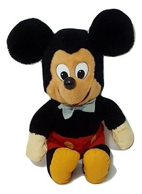 """Disney Mickey Mouse Knickerbocker 14"""" Vintage Collectible In Great Condition"""