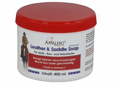 Appalero Western Care Leather and Saddle Soap Sattelseife, 400 ml (62,25 EUR/l)