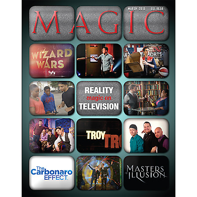"Magic Magazine ""Magic on Reality TV"" March 2015 - Book"