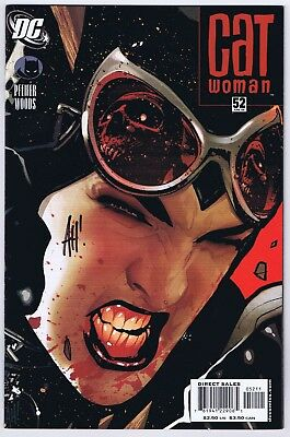 Catwoman #52 NM Signed w/COA by Cover Artist Adam Hughes 2006 DC Comics