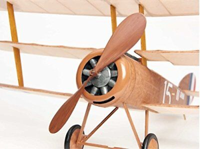Sopwith Tri-plane vintage model rubber-powered balsa wood aircraft flying kit!