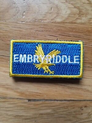 Embry-Riddle Aeronautical University Air Force Flightsuit Pencil Patch