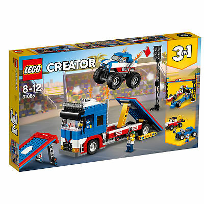 31085 LEGO Creator Mobile Stunt Show 581 Pieces Age 8+ New Release For 2018!