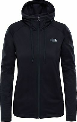THE NORTH FACE TNF Tech Mezzaluna T93BROJK3 Fleece Veste à Capuche pour Femme
