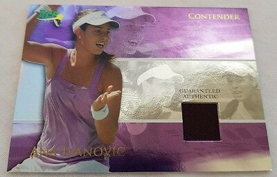 Ana IVANOVIC Ace Authentic CONTENDER Memorabilia Jersey card C6 Tennis