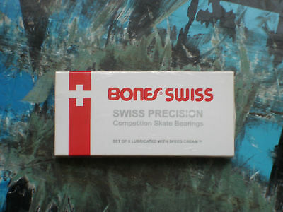 Bones swiss Bearings**skateboard**longboard**carver**roller**scooter**