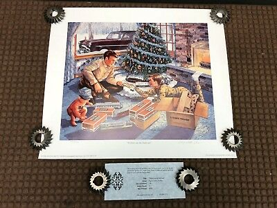 1999 Signed ANGELA TROTTA THOMAS Lionel Workin on The Railroad 42/750 Print