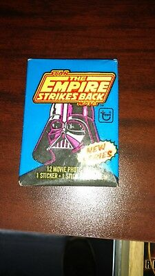 Topps 1980 Star Wars The Empire Strikes Back Serias 2 Trading Card Wax Pack
