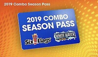 SIX FLAGS OVER GEORGIA 2 Park Gold 2020 Season Pass A PROMO DISCOUNT TOOL $69
