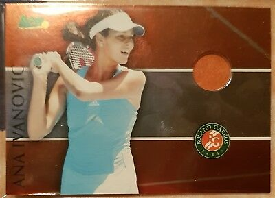 Ana IVANOVIC Ace Authentic Clay card Roland Garros RG13