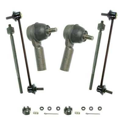 Front Rear (2) Sway Bar (4) Tie Rod Fits 01-02 2003 2004 Ford Escape SUSPKG2303
