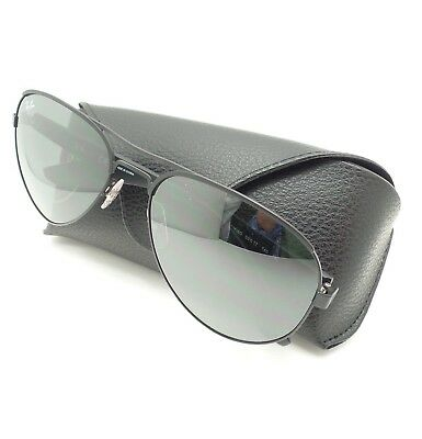 63356f3c6e Ray Ban 3523 006 6G 59mm Black Silver Mirror New Sunglasses Authentic