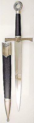 Black Medieval Athame Dagger Wicca Pagan Ritual Ceremonial Magic Knife Occult