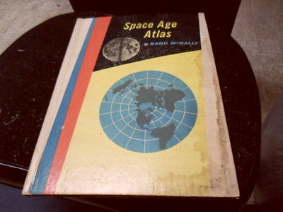 Rand McNally Space Age Atlas 1960 Edition Vintage Book