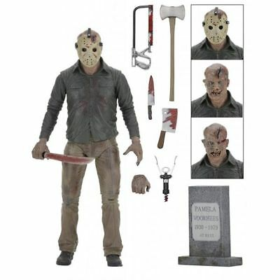 """Friday the 13th - 39716 - 7"""" Ultimate Part 4 Jason Action Figure"""