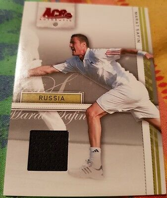 Marat SAFIN Ace Authentic Straight Set Jersey Card Tennis