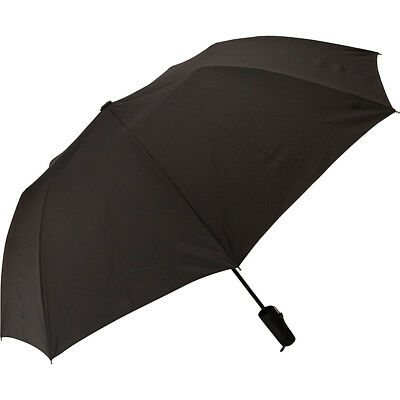 Samsonite Auto Open Travel Umbrella - Black Umbrellas and Rain Gear NEW