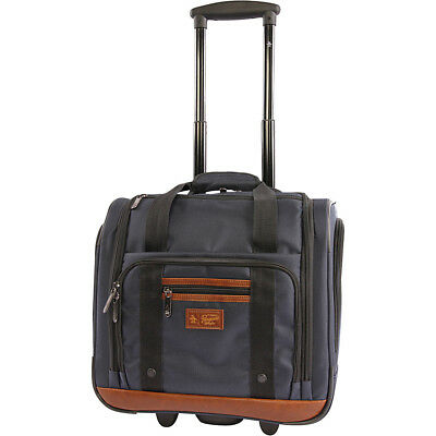"Original Penguin Luggage Underseat 16"" Rolling Carry-On Softside Carry-On NEW"