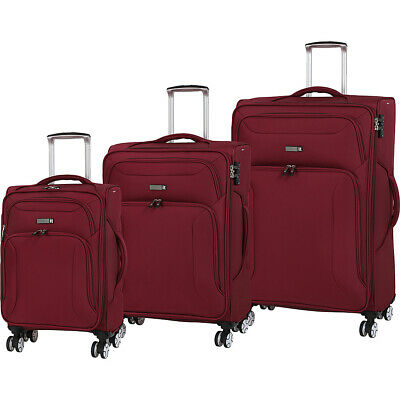 it luggage Megalite Fascia 3 Piece Expandable Spinner Luggage Set NEW