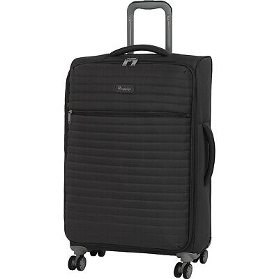 """it luggage Quilte 27.4"""" Lightweight Expandable Checked Softside Checked NEW"""