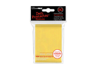 ULTRA PRO Deck Protector - Standard Sleeves 50ct Canary Yellow MTG/PKM Size