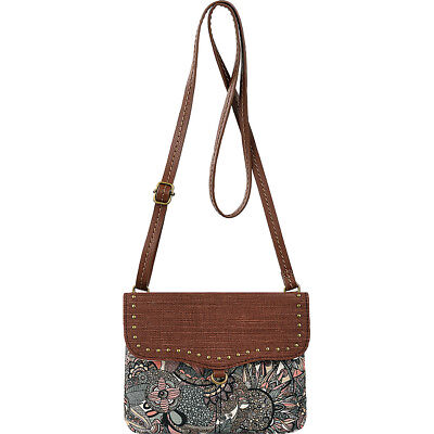 Sakroots Double Gusset Crossbody 5 Colors Cross-Body Bag NEW