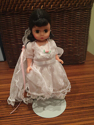 Madame Alexander First Communion Brunette Doll