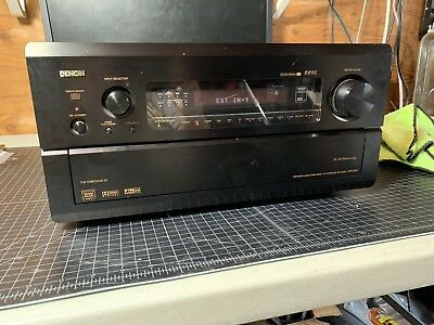 DENON AVR AVR-5800 7 1 Channel 200 Watt Receiver