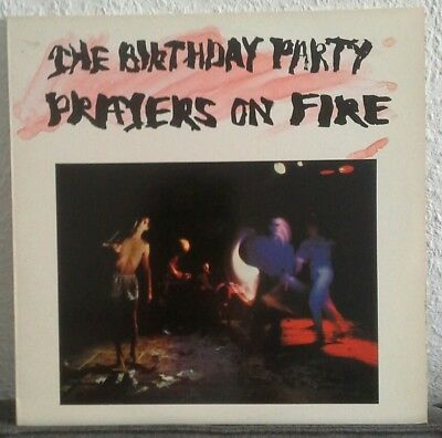 Birthday Party Prayers on fire Vinyl LP Missing Link 4AD Nick Cave 1981
