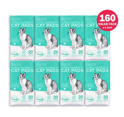 "Peritas Cat Pads Generic Refill for Breeze Tidy Cat Litter System 16.9""x11.4"""