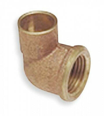 NIBCO Reducing Elbow, 90,Cast Copper,C x FNPT C7073 1/2x3/8. Shipping is Free