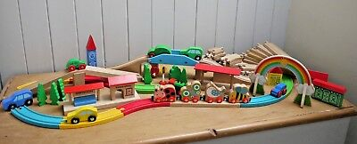 Wooden Train Set By Early Learning Centre Very Sweet Item A Must