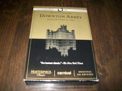 Downton Abbey Limited Edition Seasons One And Two DVD