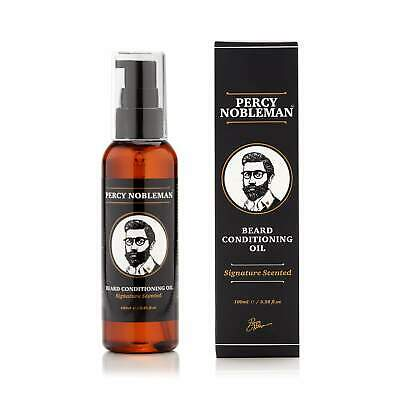 NEW Percy Nobleman - Signature Beard Oil (Scented) - 100ml