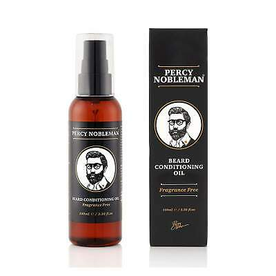 NEW Percy Nobleman - Beard Oil (Fragrance Free) - 100ml