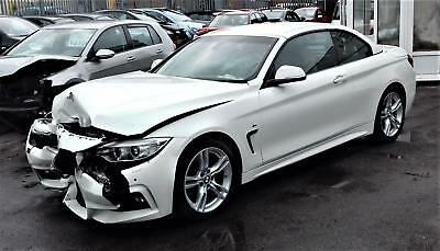 2016 Bmw 420 2.0Td M Sport Auto Convertible Damage Repairable Salvage