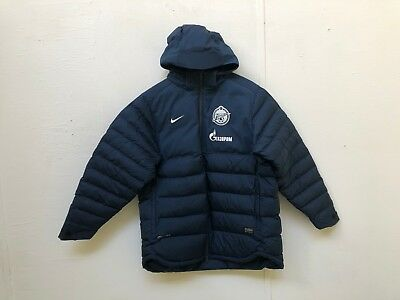Zenit Saint Petersburg Nike Mens Bench Padded Jacket - Various Sizes - Navy -New