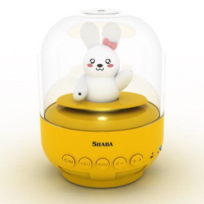 Speaker for kids, SHABA bell Jar animal pet mini Bluetooth speaker with mic